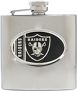 NFL Oakland Raiders 6oz Stainless Steel Flask