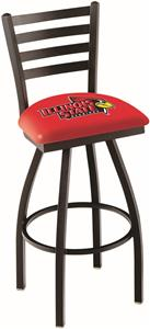 Illinois State University Ladder Swivel Bar Stool