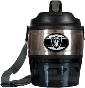 NFL Oakland Raiders 80oz. Grub Jug