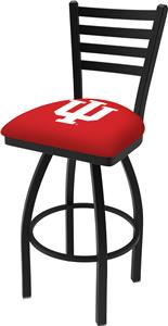 Indiana University Ladder Swivel Bar Stool