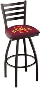 Iowa State University Ladder Swivel Bar Stool