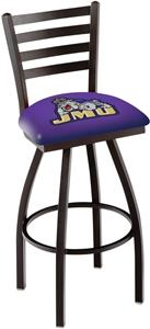 James Madison University Ladder Swivel Bar Stool