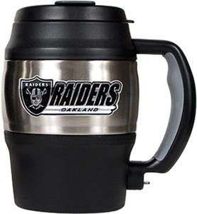 NFL Oakland Raiders Mini Jug w/Bottle Opener