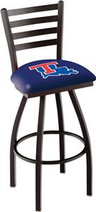 Louisiana Tech University Ladder Swivel Bar Stool