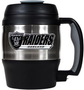 NFL Oakland Raiders 52oz Macho Travel Mug