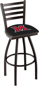Miami University (OH) Ladder Swivel Bar Stool