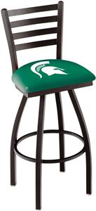 Michigan State University Ladder Swivel Bar Stool