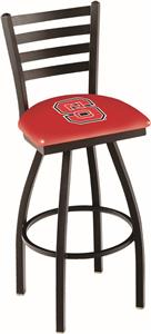 North Carolina State Univ Ladder Swivel Bar Stool