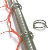 All Goals Soccer Goal Metal Ring Net Fasteners