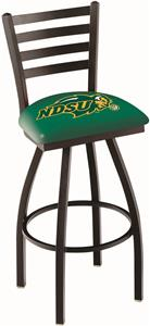 North Dakota State Univ Ladder Swivel Bar Stool