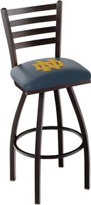 Notre Dame ND Ladder Swivel Bar Stool