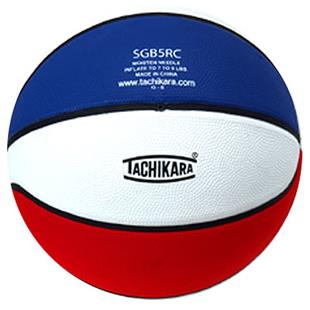 Tachikara Junior Tri-Color Rubber Basketball