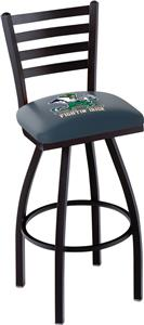 Notre Dame Leprechaun Ladder Swivel Bar Stool