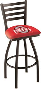 Ohio State University Ladder Swivel Bar Stool