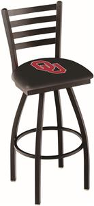 Oklahoma University Ladder Swivel Bar Stool