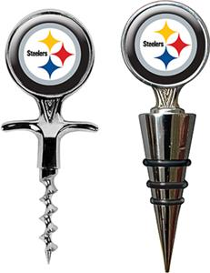 NFL Pittsburgh Steelers Cork Screw & Bottle Topper