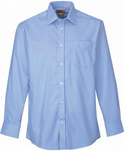 TRI MOUNTAIN Glenwood Striped Dress Shirt