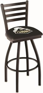 Holland Purdue Ladder Swivel Bar Stool