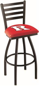 Rutgers University Ladder Swivel Bar Stool