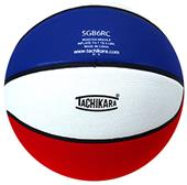 Tachikara Intermediate Tri-Color Rubber Basketball