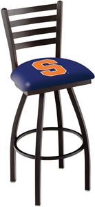 Syracuse University Ladder Swivel Bar Stool