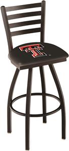 Texas Tech University Ladder Swivel Bar Stool