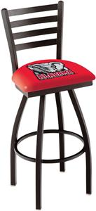 Univ of Alabama Elephant Ladder Swivel Bar Stool