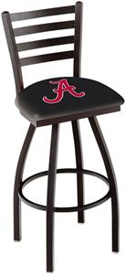 "Univ of Alabama Script ""A"" Ladder Swivel Bar Stool"