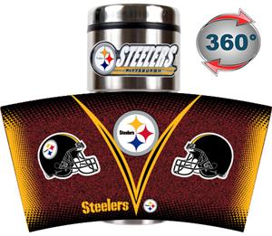 NFL Pittsburgh Steelers Tumbler (Logo & Team Name)