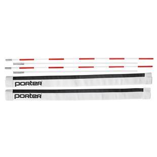 Porter Volleyball Boundary Markers w/ Net Antennas