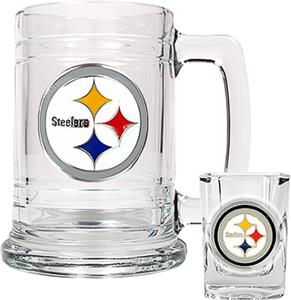 NFL Pittsburgh Steelers Boilermaker Gift Set