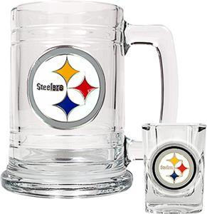 NFL Pittsburgh Steelers Boilermaker Gift Set
