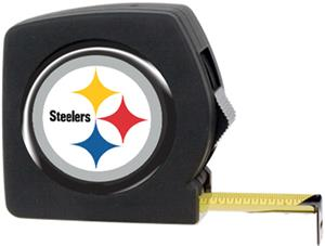 NFL Pittsburgh Steelers 25' Tape Measure w/Logo