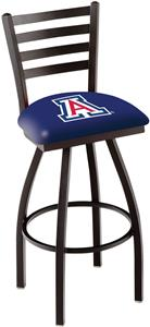University of Arizona Ladder Swivel Bar Stool