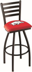 University of Arkansas Ladder Swivel Bar Stool