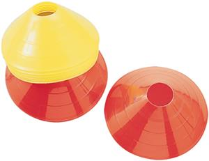 "All Goals 12"" Diameter Saucer Cones - Set of 100"
