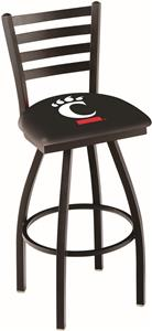 University of Cincinnati Ladder Swivel Bar Stool