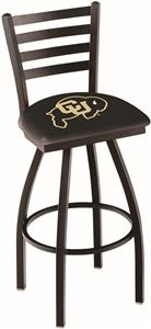 University of Colorado Ladder Swivel Bar Stool