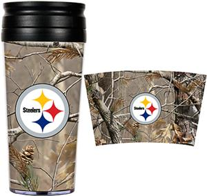 NFL Pittsburgh Steelers Realtree Travel Tumbler