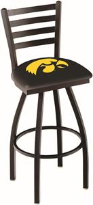 University of Iowa Ladder Swivel Bar Stool