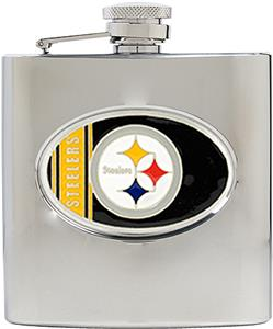 NFL Pittsburgh Steelers 6oz Stainless Steel Flask