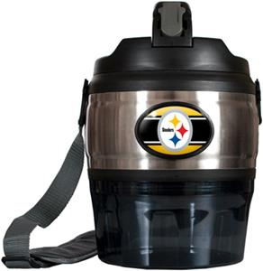 NFL Pittsburgh Steelers 80oz. Grub Jug