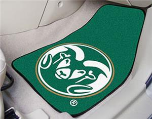 Fan Mats Colorado State University Carpet Car Mats