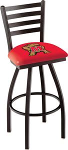 University of Maryland Ladder Swivel Bar Stool