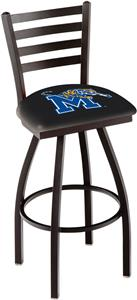 University of Memphis Ladder Swivel Bar Stool