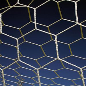 All Goals 8'x24'x4'x10' Hexagon 3mm Soccer Nets
