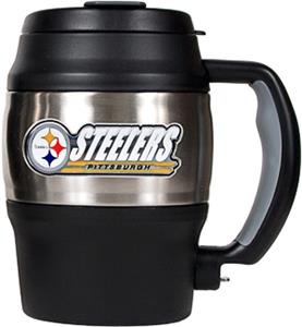 NFL Pittsburgh Steelers Mini Jug w/Bottle Opener