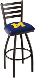 University of Michigan Ladder Swivel Bar Stool