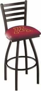 University of Minnesota Ladder Swivel Bar Stool
