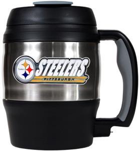NFL Pittsburgh Steelers 52oz Macho Travel Mug